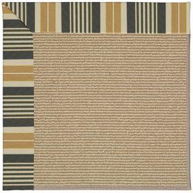 Creative Concepts-Sisal Long Hill Ebony Machine Tufted Rugs