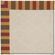 "Creative Concepts-White Wicker Dimone Sequoia - Rectangle - 24"" x 36"""