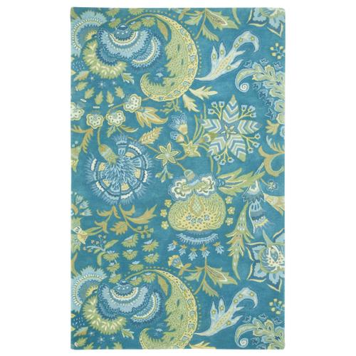 Grand Palampore Peacock Hand Tufted Rugs