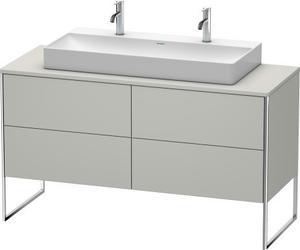 Vanity Unit For Console Floorstanding, Concrete Gray Matte (decor) Product Image