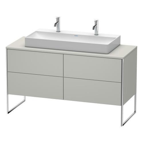 Duravit - Vanity Unit For Console Floorstanding, Concrete Gray Matte (decor)