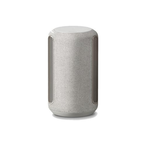 Gallery - Wi-Fi Enabled 360 Reality Audio Wireless Speaker with Ambient Room-Filling Sound (Light Gray) - Gray