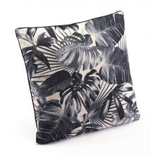Jungle Pillow Black & Beige