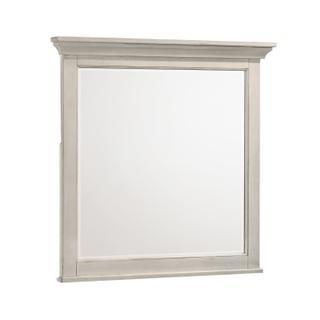 San Mateo Mirror  Rustic White