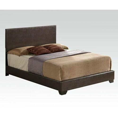 ACME Ireland III Eastern King Bed (Panel) - 14367EK_KIT - Brown PU