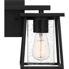 View Product - Lodge Bath Light in Matte Black