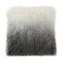 Lamb Fur Pillow Light Grey Spectrum