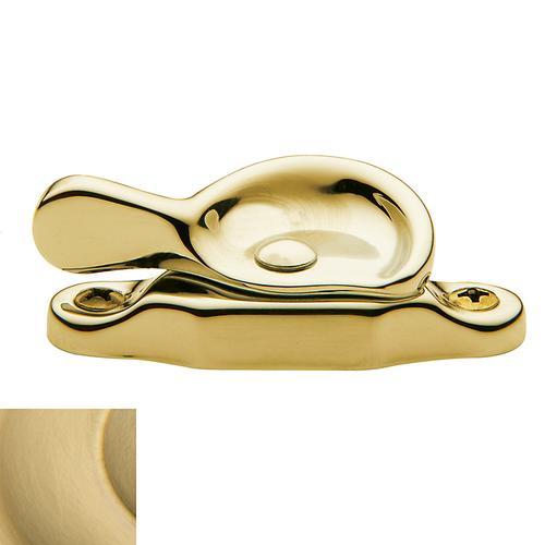 Baldwin - Lifetime Satin Brass Sash Lock