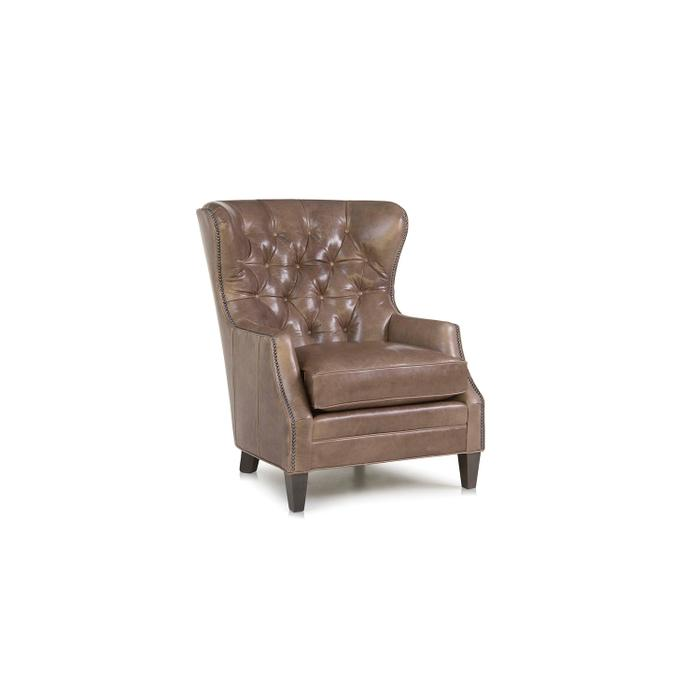 Leather Stationary Chair