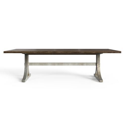 "Hillside 108"" Rectangular Dining Table - Feather"