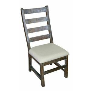 Million Dollar Rustic - Padded Barnwood Savannah Chair