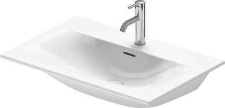 Viu Furniture Washbasin Without Faucet Hole