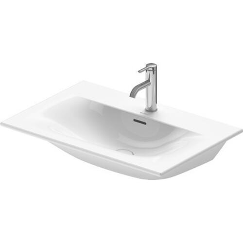 Duravit - Viu Furniture Washbasin 2 Faucet Holes Pre-marked With Large Distance Between Faucets