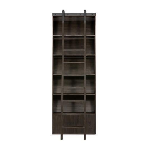 Bane Bookshelf-dark Charcoal