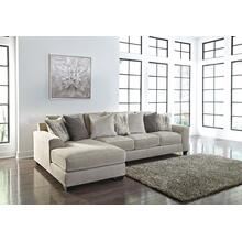 Ardsley Sectional Pewter Left