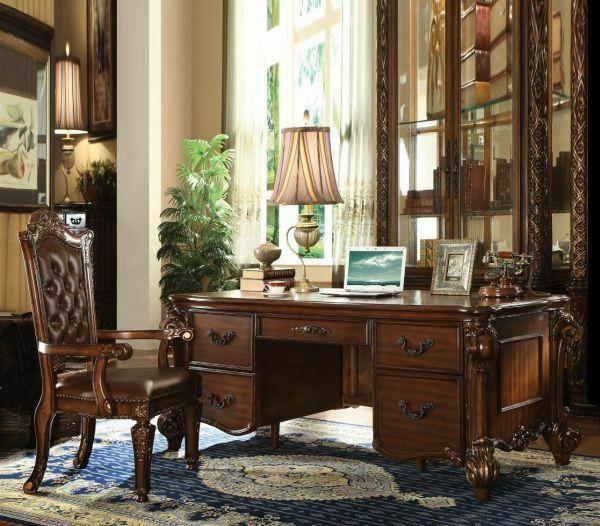 ACME Vendome Executive Desk - 92125 - Cherry