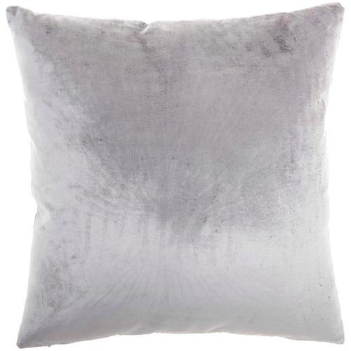 "Sofia Ac384 Grey 20"" X 20"" Throw Pillow"