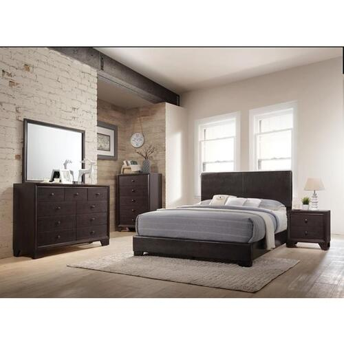 IRELAND BROWN EASTERN KING BED