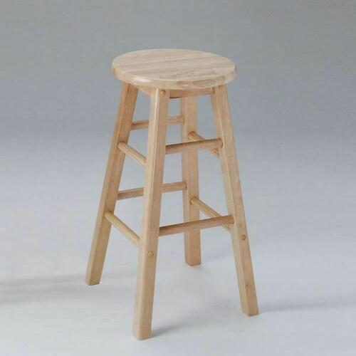 "ACME Metro Bar Stool (Set-2) - 02738N - Natural - 29"" Seat Height"