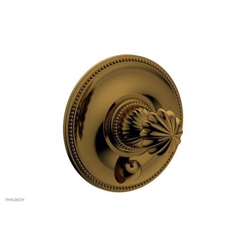 GEORGIAN & BARCELONA Pressure Balance Shower Plate with Diverter and Handle Trim Set PB2361TO - French Brass