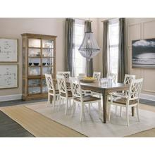View Product - Montebello 82in Rectangle Dining Table w/ 1-20in leaf