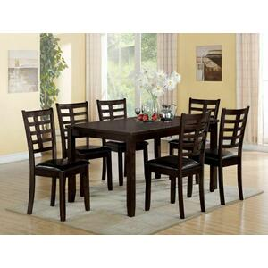 Acme Furniture Inc - ACME Tahlia 7Pc Pack Dining Set - 71950 - Espresso