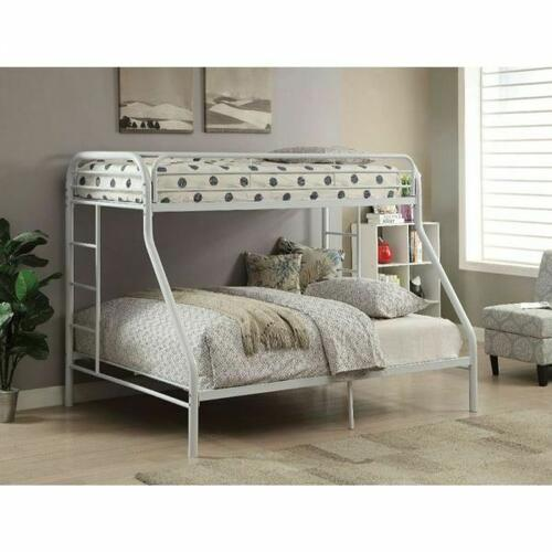 ACME Tritan Twin/Full Bunk Bed - 02053WH - White