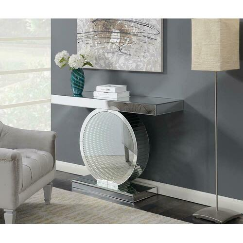Product Image - Contemporary Silver Console Table