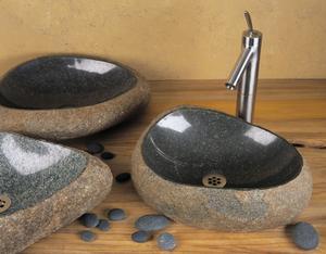 Natural Wabi Sink Natural Boulder / Standard Product Image