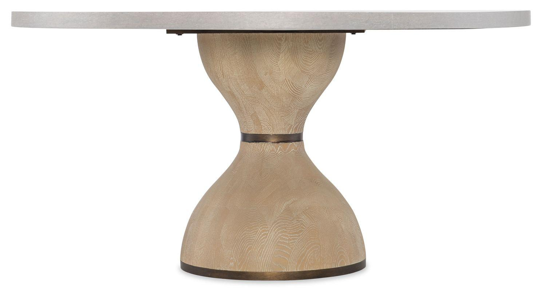 Hooker FurnitureDining Room Miramar Point Reyes Botticelli 48in - 60in Round Dining Table Base