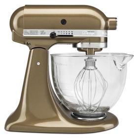 Artisan® Design Series 5 Quart Tilt-Head Stand Mixer with Glass Bowl Toffee