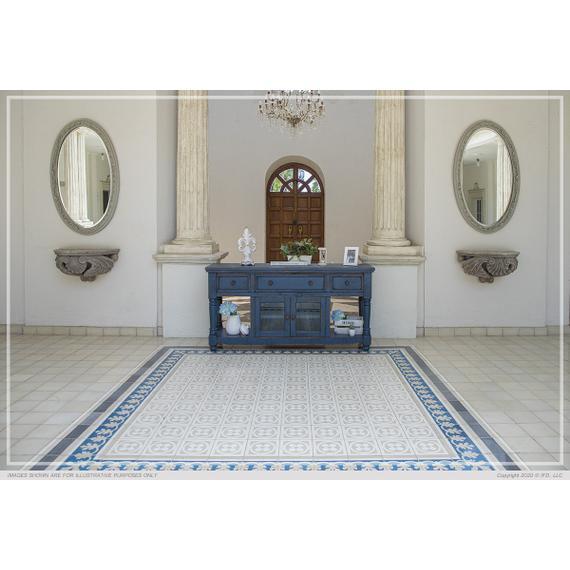 "International Furniture Direct - 70"" TV Stand, w/3 Drawers & 2 Doors, in Dark Blue Finish"