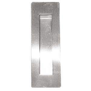 Rectangular Pocket/Cup Pull w/Rectangular Opening, US32D