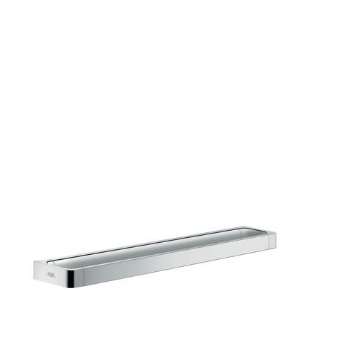 Chrome Rail bath towel holder 600 mm
