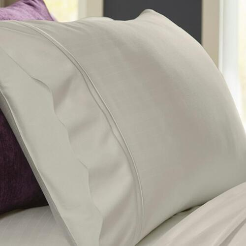Bamboo Pillowcase Set - Ivory / King