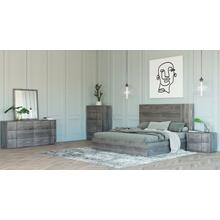 Nova Domus Asus - Italian Modern Elm Grey Bedroom Set