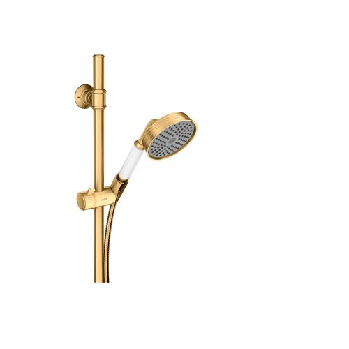 Brushed Brass Shower set 0.90 m with hand shower 100 1jet