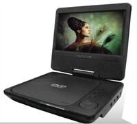 """View Product - 7"""" Swivel Screen Portable DVD Player"""