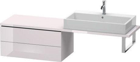 Low Cabinet For Console Compact, White Lilac High Gloss (lacquer)