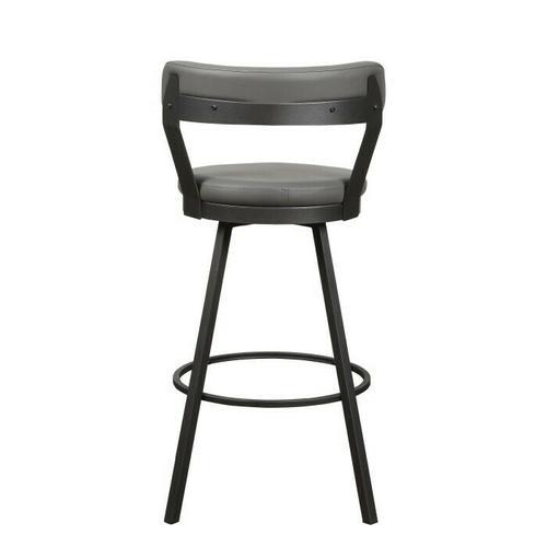 Gallery - Swivel Pub Height Chair, Gray
