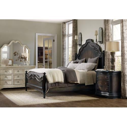 Bedroom Auberose Queen Panel Bed
