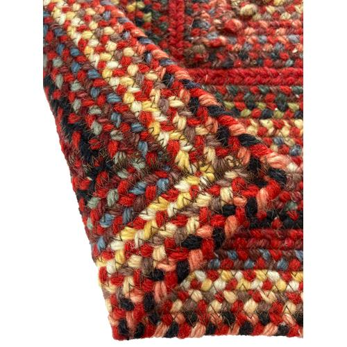 Americana Country Red Braided Rugs (Custom)