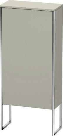 Product Image - Semi-tall Cabinet Floorstanding, Taupe Satin Matte (lacquer)