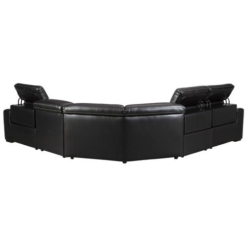 Mantonya 4-piece Power Reclining Sectional