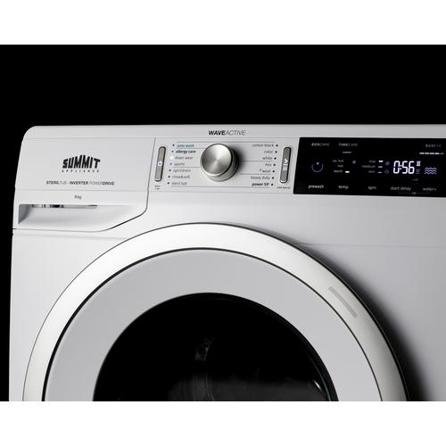 Summit - Washer/heat Pump Dryer Combination
