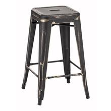 View Product - Marius Counter Stool Antique Black Gold