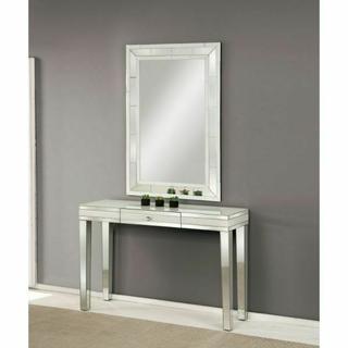 ACME Nerissa Console Table - 90252 - Mirrored