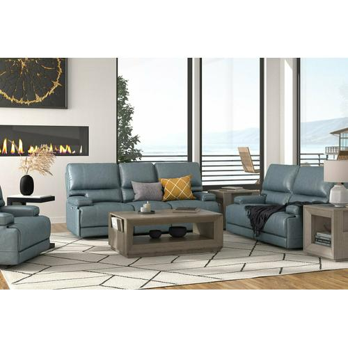 WHITMAN - VERONA AZURE - Powered By FreeMotion Power Reclining Collection