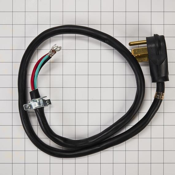 Whirlpool - 4-Wire Range Power Cord