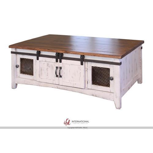 International Furniture Direct - 2 Sliding doors, 2 Mesh doors on each side